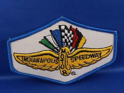 Indianapolis Motor Speedway Patch Badge Vintage Race Car Collector