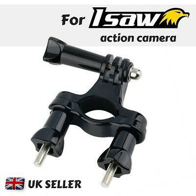 For Isaw Edge Advance Air Extreme Action Cam Bike Handle bar Mount Bicycle Clamp