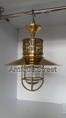 Nautical Light Marine Ship Brass Passage celling Outdoor Light 3 Pc