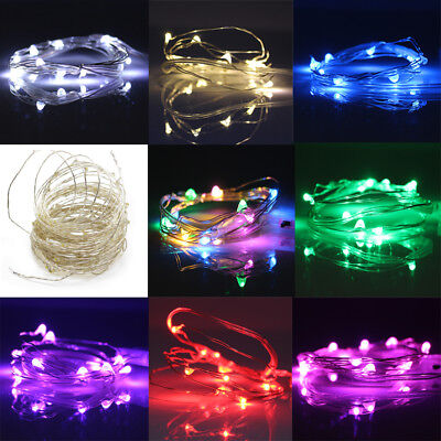 20/50/100 LED String Battery/USB/12V Supply Copper Wire Fairy Lights Xmas Party