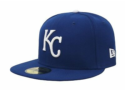 official photos 41ddd 1d4f6 New Era 59Fifty MLB Cap Kansas City Royals 2017 On Field Fitted Game Hat -  Blue