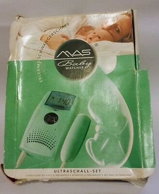 MAS baby watcher heart rate doppler - ultrasound set