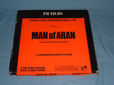 Cine Film - Man Of Aran - Super 8 Black And White With Sound