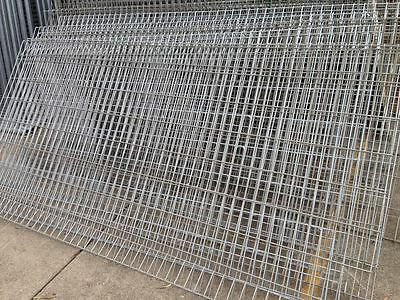 Rolled Top Edge Protection Fence 1.2m high 2.4m wide