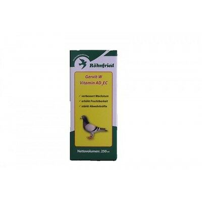 Pigeon Product - Gervit-W Vitamin AD3EC - Fertility - by Rohnfried-Racing Pigeon