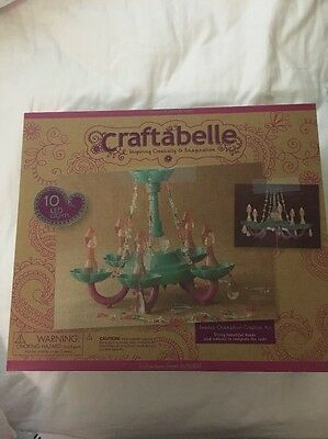 Craftabelle Beaded Chandelier Creation Kit Kids Craft