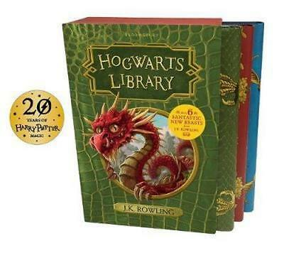 NEW Hogwarts Library Box Set, 3 Volumes By J.K. Rowling Multi-Item Pack
