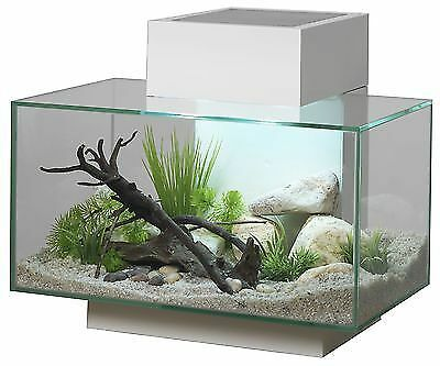 Fluval Edge Aquarium Fish Tank White LED