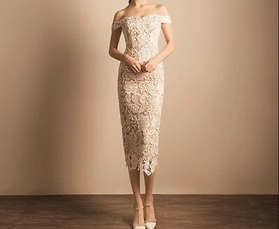 New White/Ivory Wedding Bridal Formal Dress Gown