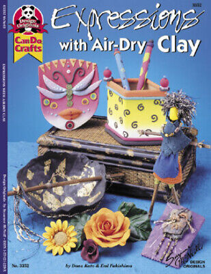 EXPRESSIONS WITH AIR-DRY CLAY-Polymer/Fimo/Premo/Sculpey Canes-Craft Idea Book