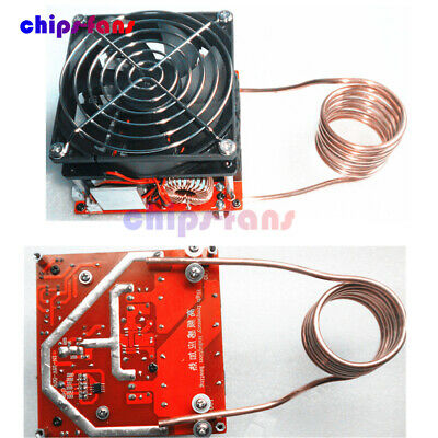 DIY ZVS 20A Induction Heating Board Flyback Driver Heater Cooker + Ignition Coil