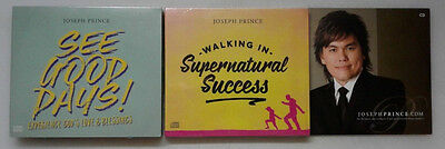 Joseph Prince Walking In Supernatural Success 2 CD/See Good Days 3CD Bonus 2CD