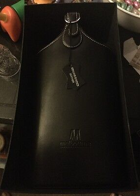 Boxed Leather Wine Carrier (new)
