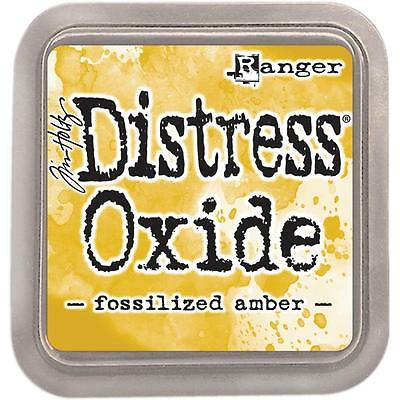 FOSSILIZED AMBER Distress Oxide Ink by Tim Holtz®