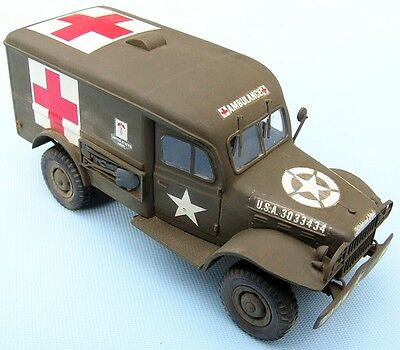 DODGE WC-54 Ambulance  ,scale 1/35HAND BUILT AND FINISHED MODEL