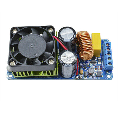 Digital IRS2092S 250W 500W Mono Channel  Amplifier HIFI Power Amp Board + FAN