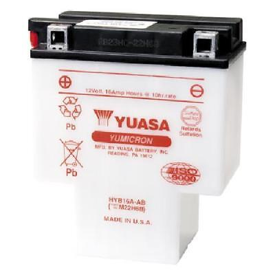 Genuine Yuasa HYB16A-AB Motorbike Motorcycle 12V Battery