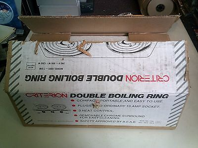 Criterion Double Boiling Ring, Boxed, Tested, Trusted Ebay Shop