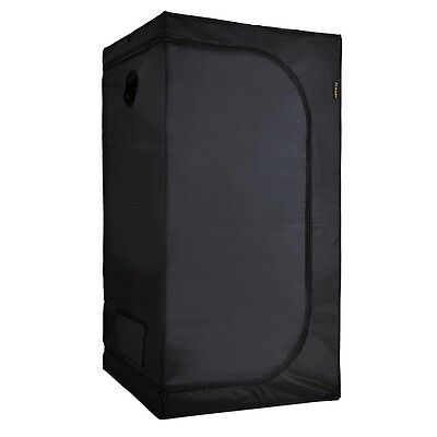 80x80x160cm Hydroponic Grow Tent Dark Room Plate Indoor Box Nontoxic INCD VAT