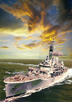 Hms Danae - Hand Finished, Limited Edition (25)