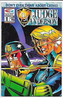 Fleetway/Quality Comics - Psi: Judge Anderson #11 Limited Edition