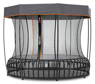VULY THUNDER PRO TRAMPOLINE - Medium (inc FREE Shade Cover)