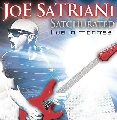 JOE SATRIANI – SATCHURATED LIVE IN MONTREAL CANADA Dec 2010 2CDs (NEW)