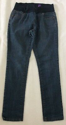 "[292] New Look Maternity Blue Skinny Jeans Size 10 (30"" leg)"