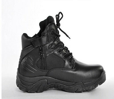 Men's Boots Military Tactical Combat Trainning Outdoor Patrol Duty Work Shoes