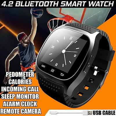 New Bluetooth Smart Heart Rate Bracelet Watch Fitness Activity Tracker Wristband