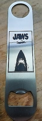 Jaws stainless steel bottle opener/church key