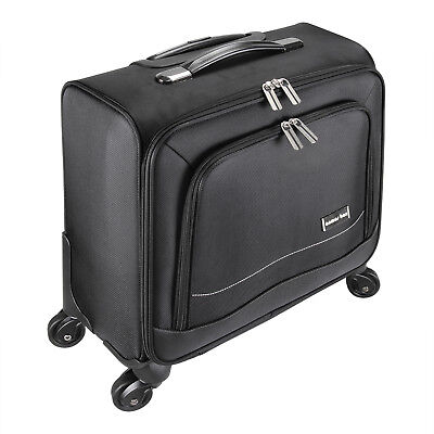 16inch 4Wheels Travel Carry On Luggage Laptop Trolley Bag Universal Business Bag