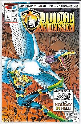 Fleetway/Quality Comics - Psi: Judge Anderson #4 Limited Edition