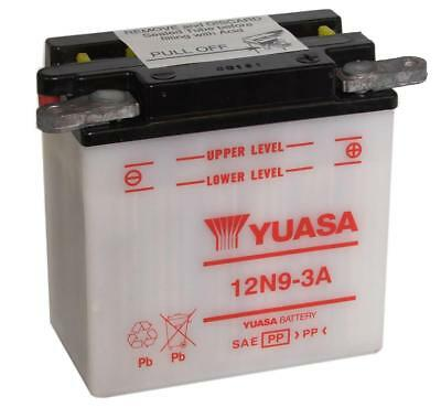 Genuine Yuasa 12N9-3A 12V Motorbike Motorcycle Battery