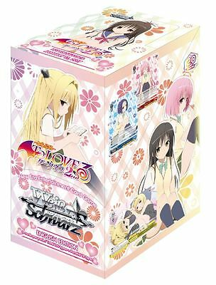 Weiss Schwarz TCG - To Loveru Darkness 2nd Boosters x 20