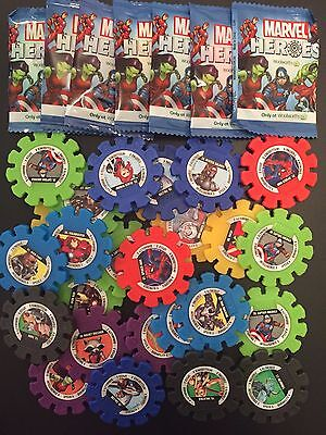 Woolworths Marvel Heroes Collector Discs $1.00 CHOOSE/PICK ALL NUMBERS AVAILABLE