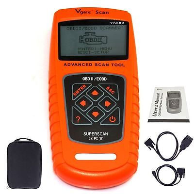Vgate VS600 ODB2 II EODB CAN Car Scanner Diagnostic Fault Code Reader Tool UK