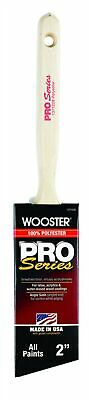 """Wooster Pro Series Polyester Angle Paint Brush Angled All Paints 2 """""""
