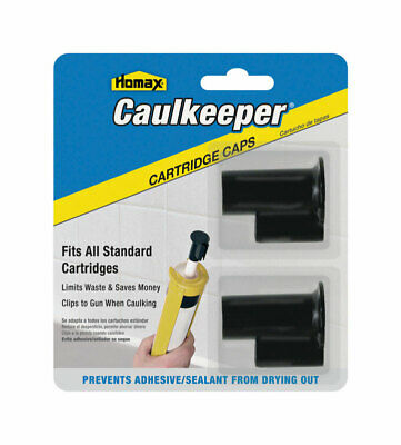 Caulkeeper Caps 2pk