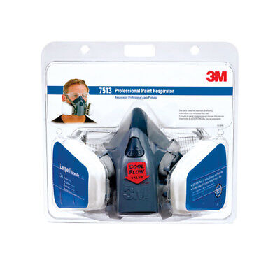 3m Paint Spray Respirator Large, Professional Clamshell