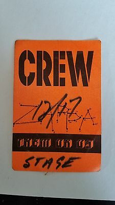 vtg (1984) FRANK ZAPPA Them or Us Crew All Access Backstage PASS Seattle