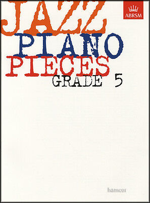 Jazz Piano Pieces Grade 5 ABRSM Sheet Music Book