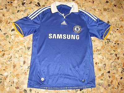 Maillot shirt trikot maglia jersey FC CHELSEA  2008-2009 ADIDAS ENGLAND