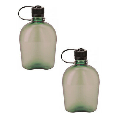 Nalgene Oasis 1qt Canteen Bottle Foliage - 2 Pack