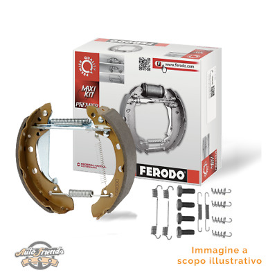 1 FERODO Kit ganasce freno Assale posteriore BERLINGO BERLINGO Furgonato RANCH