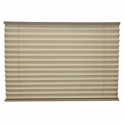 """RV Camper Pleated Blind Shades Cappuccino 26"""" x 24"""""""