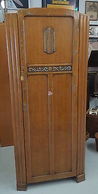 Vintage ART DECO Wardrobe by Harris Lebus Furniture