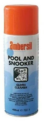 Ambersil Pool And Snooker Table Cloth Cleaner For Speed Or Wool Spray Valet