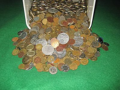 Nice Mix Over 25 Pounds Assorted Tokens-Lot 1B77 FREE SHIPPING