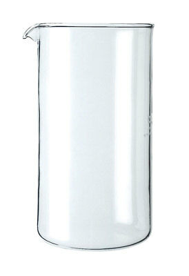 Bodum Replacement Beaker 8 Cup Clear Glass